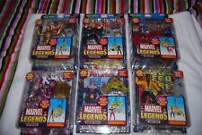 Marvel Legends Build A Figure BAF MOJO Series 2006 Set of 6 Sealed New VARIANTS