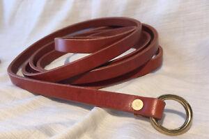 "1/2"" Wide X Slender Medieval Ring Belt SCA Faire Sword Pirate Rennie Knight"