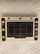 Vintage 1980 CIB Entex Electronic Hand-Held Tennis Game - Works Well