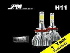 30W 3200LM H11 LED Low Beam Light Bulb 6500K White High Power for 07-16 Altima