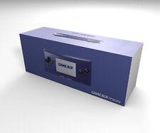 Caja consola Nintendo Game Boy Micro azul (con caja interior)