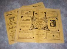 San Francisco CA Antique  Advertising Vintage 1900 Paris Exposition Pictorials