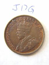 1916  Canada, Canadian Large Cent Coin , Canadian One Cent