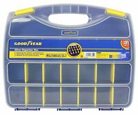 Goodyear 21 Compartment Tool Organiser Case Box Storage Screw Nail Nut Bolt