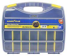 Goodyear 21 Compartment Tool Organiser Case Box Storage Screw Nail Nut Bolt
