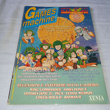 THE GAMES MACHINE N° 48 DICEMBRE 1992 ANNO 5 16 BIT CONSOLE TGM RIVISTA PC AMIGA