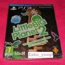 LITTLE BIG PLANET 2 VERSION COLLECTOR EDITION LIMITEE SONY PS3 NEUF FRANCAIS