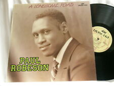 PAUL ROBESON A Lonesome Road Ray Noble Lawrence Brown ASV UK LP
