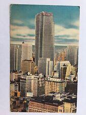 New York City 1954 NY Radio City Area Skyline Northeast RCA vintage Postcard A36