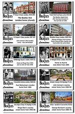 BEATLES - THEN & NOW FAMOUS LOCATIONS - POSTCARDS SET # 2