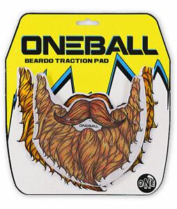 """NEW OneBall Jay Beardo 6"""" x 6"""" Snowboard Traction/Stomp Pad"""