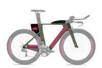 Quintana Roo PRSix Triathlon Frameset Army Pink Size 50cm