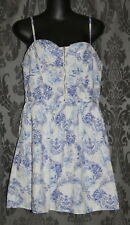 Womens size 12 blue & white short dress made by HOT OPTIONS - Target