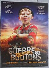 Affiche LA NOUVELLE GUERRE DES BOUTONS Barratier LAETITIA CASTA 40x60cm