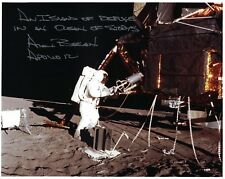 ONE DAY SALE!! Alan Bean --  Apollo 12 Signed Lunar Surface Photo