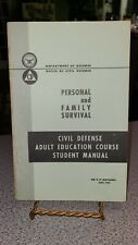 1966 Department Of Defense Personal & Family Safety book. Military collectible