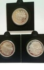 ⚡ 3× PROOF 1991 - 1992 - 2003 Australian 20 Cents PROOF Coins