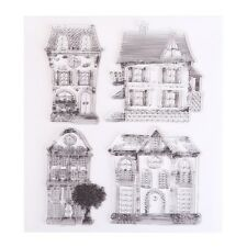 DIY House Transparent Clear Silicone Stamps Scrapbooking Photos Cards Decoration