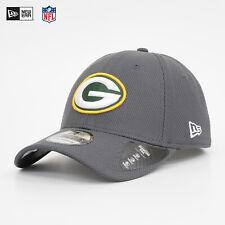 NEW ERA 39Thirty Flexfit Cap Diamond NFL Green Bay Packers Mütze Kappe Grau NEU
