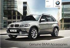 BMW X5 Accessories 2009-10 UK Market Sales Brochure