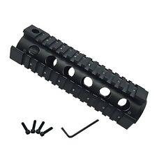 223/5.56 Quad Rail Handguard 6.5 inch Carbine Length 2 Piece Drop-In Picati