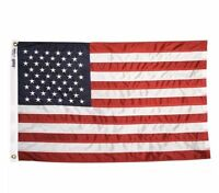Anin US American Flag 3x5 FT 100% nylon Embroidered Stars UV resistant USA MAGA