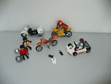 Bikes with Riders - Motor Bike- Playmobil Go Cart & Driver GA 11563