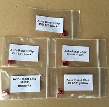 1 Satz Auto Reset Chips Canon PGI520 CLI521 IP4700 MP540