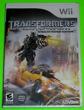 Nintendo Wii Video Game - Transformers Dark of the Moon Stealth Force Ed. (New)