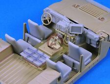 Legend 1/35 HMMWV Humvee Interior Detail Set (for Tamiya) [Resin Update] LF1193