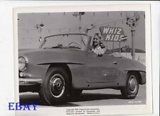 Joi Lansing sexy in sports car VINTAGE Photo Hot Cars