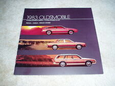 1983 Olds Firenza Omega Cruiser wagon sales brochure dealer literature