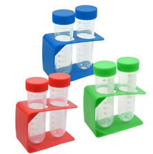 Teaching Tree Kids Plastic Test Tubes with Holder Science Home School ~ Choice