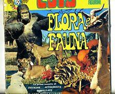Album di figurine # FLORA E FAUNA # Edis 1974