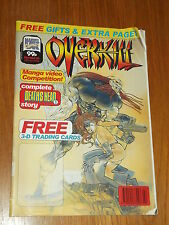 OVERKILL #44 MARVEL BRITISH MAGAZINE 12 JANUARY 1994 DEATHS HEAD II^