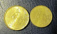 1, 5, 10 + 20 Cent Euro Münze Frankreich Prägejahr 2009 aus Umlauf Sammlerstück!