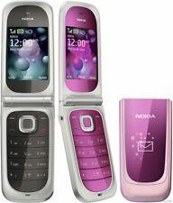 Unlocked Nokia 7270 Mobile Phone Purple/black