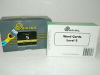 EPS SPIRE Level 5 Word Cards NEW SEALED - Damaged Box