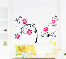 Dog Fall Asleep Home Decor Removable Wall Sticker Decal Decoration Vinyl Mural