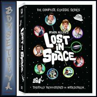 LOST IN SPACE COMPLETE CLASSIC SERIES 1 - 3 REMASTERED *BRAND NEW DVD BOXSET***