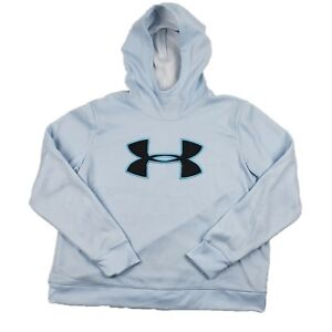 UNDER ARMOUR Women's UA ColdGear Hooded Hoodie Pullover Sweatshirt Size XL