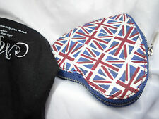 Brand New Martine Wester Union Jack heart coin zip purse with presentation bag