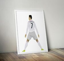 Cristiano Ronaldo, Real Madrid, Print, Poster, wall art, gift, home decor