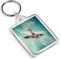 Supermarine Spitfire RAF Keyring - IP02 - Legends Of The Sky Cool Gift #16310