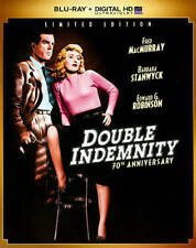 Double Indemnity (Blu-ray Disc, 2014, 70th Anniversary Limited Edition)[New]