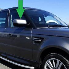 Genuine RangeRover Noble Chrome Top mirror Cap Sport 2010> door wing cover glass