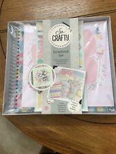 Craft Set Scrapbook/photo Album Bnib