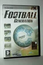FOOTBALL GENERATION GIOCO USATO OTTIMO PC CDROM VERSIONE ITALIANA GG1 41972
