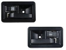 Complete Inside Door Handle Kit Includes 2 Handles Black Jeep CJ Wrangler YJ TJ