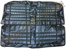1970 Dodge Coronet Seat Covers Rear Black Upholstery Bench Interior Super Bee